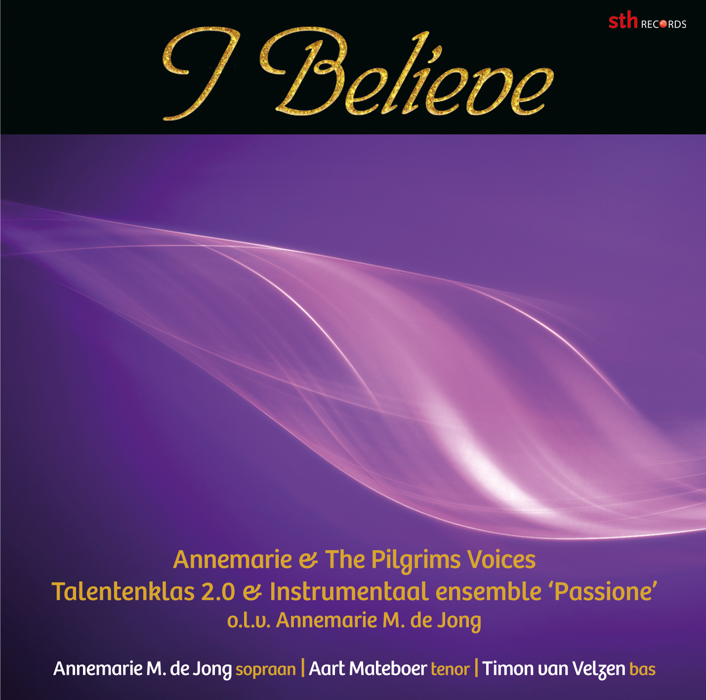 CD I Believe Front